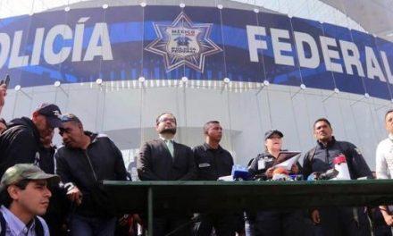 PIDEN A DURAZO POLICÍAS FEDERALES