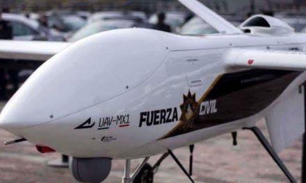 GASTAN MILLONES EN UN DRON Y NO LO UTILIZAN.