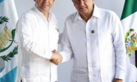 HAY ACUERDO ENTRE GUATEMALA Y MÉXICO