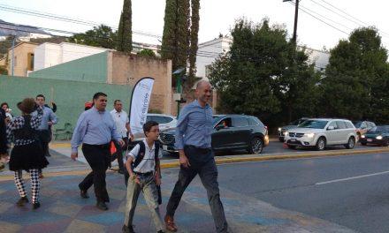ALCALDE DE SAN PEDRO SUPERVISA LEY DE MOVILIDAD
