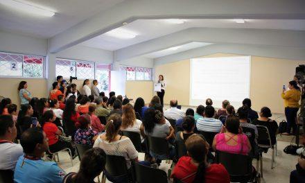 REALIZA GUADALUPE TALLER EDUCATIVO EN SINERGIA CON PADRES DE FAMILIA