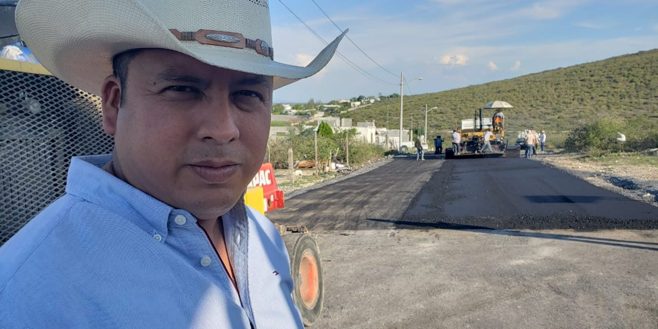 DESTACA ALCALDE DE HIGUERAS TRABAJOS EN ÁREA RURAL