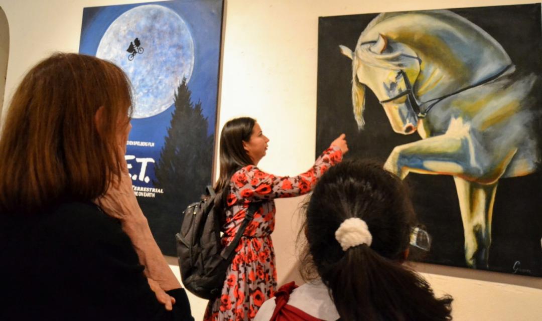 INAUGURAN EXPOSICIÓN DE PINTURAS EN MONTERREY