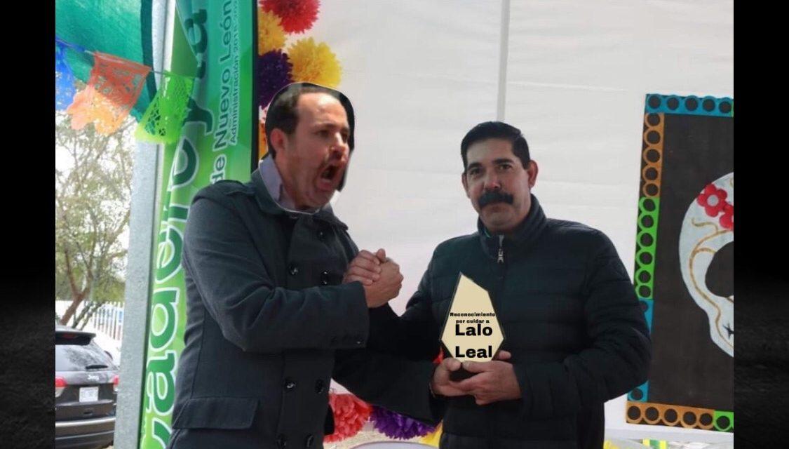 ERNESTO QUINTANILLA ALCALDE DE CADEREYTA SE PONE GENEROSO CON DIPUTADO PANISTA LALO LEAL PAGANDO FACTURAS DE SUS SOCIOS