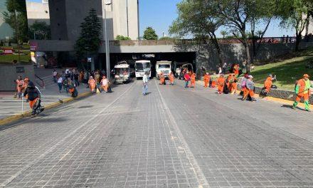 DESPUÉS DE BUEN FIN Y DESFILE DEJA A MONTERREY 161 TONELADAS DE BASURA