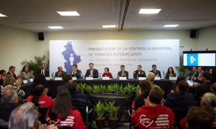 TENDRÁ MONTERREY VENTANILLA PARA ATENDER ASUNTO SOBRE DESAPARECIDOS.