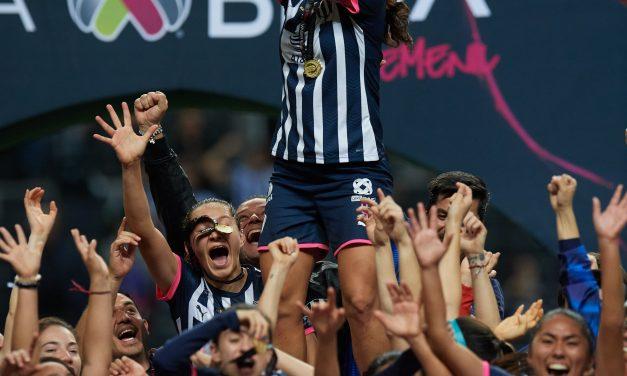 RAYADAS SE CORONA EN LA LIGA MX FEMENIL