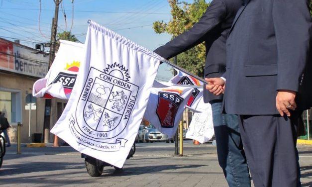 OBSEQUIARA SAN PEDRO VEHÍCULOS PARA SEGURIDAD A MUNICIPIOS