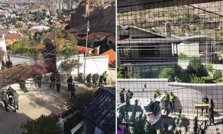 DENUNCIAN HOSTIGAMIENTO A EMBAJADA MEXICANA EN BOLIVIA