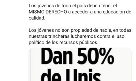 MARKO CORTÉS EXPRESA SU INCONFORMIDAD EL PROGRAMA DE BIENESTAR BENITO JUÁREZ