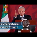ASEGURA AMLO 5 MIL VENTILADORES DE CHINA PARA MÉXICO