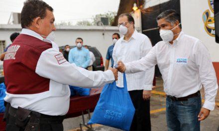 APOYA SENADOR A POLICIAS DE MONTEMORELOS EN ESTA ETAPA DE CONTINGENCIA