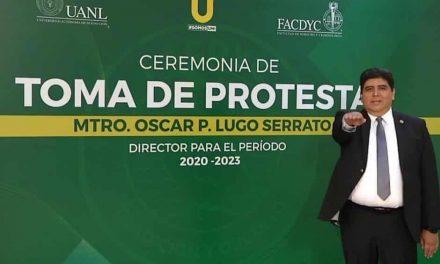 RINDE PROTESTA OSCAR LUGO COMO DIRECTOR DE FACDYC