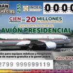 RIFA PRESIDENCIAL LLEVA CASI 25% DE CACHITOS VENDIDOS