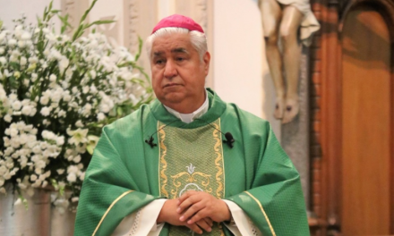 ARZOBISPO PIDE AL GOBIERNO DE NUEVO LEÓN EN REPRESENTACIÓN DE LA COMUNIDAD CATOLICA, RETOMAR LAS MISAS PRESCENCIALES