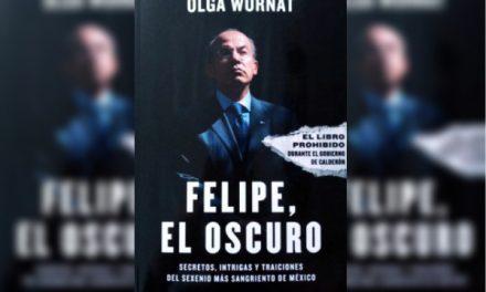 OLGA WORNAT ANUNCIA SU NUEVO LIBRO EN CONTRA DE FELIPE CALDERÓN