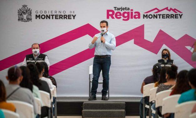 38 MIL MUJERES REGIAS SON BENEFICIADAS GRACIAS AL PROGRAMA DE ''TARJETA REGIA'' PROMOVIDO POR EL GOBIERNO DE MONTERREY