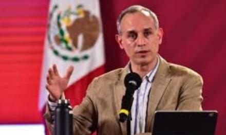 PROPAGANDA POLÍTICA ES LO QUE OPINA LÓPEZ-GATELL RESPECTO A LA DENUNCIA INTERPUESTA EN SU CONTRA <br>