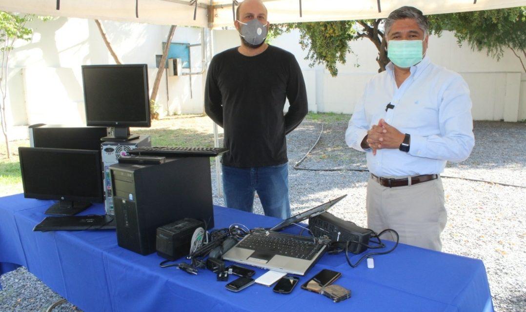 VÍCTOR FUENTES INICIA OPERACIONES DEL PROGRAMA DE ACOPIO DE RESIDUOS ELECTRÓNICOS