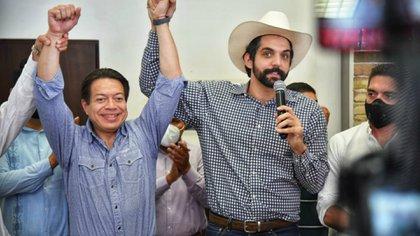 CON EL TRIUNFO DE MARIO DELGADO EN LA DIRIGENCIA NACIONAL, LAS PIEZAS PARA ELEGIR CANDIDAT@ HACIA LA GUBERNATURA DE NUEVO LEÓN POR MORENA SE PONE TODAVÍA MÁS INTERESANTE; LA MÁS FELIZ, ¡TATIANA CLOUTHIER!
