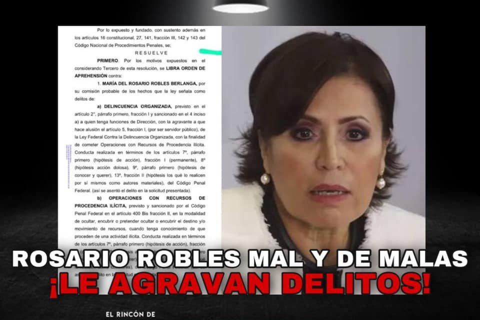 A LA FISCALÍA GENERAL DE LA REPÚBLICA NO LES GUSTÓ QUE LES DIJERAN ''BLANDITOS''; DESPUÉS DE SU ''PASIVA NEGLIGENCIA'', HOY, JUEZ GIRA ORDEN DE APREHENSIÓN CONTRA ROBLES BERLANGA