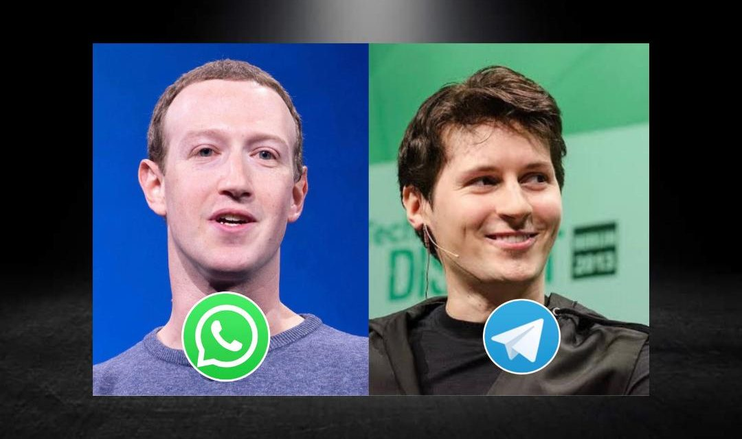 DECAE WHATSAPP CADA VEZ MÁS Y TELEGRAM LLEGA A MÁS DE 500 MILLONES DE USUARIOS EN LAS ÚLTIMAS HORAS
