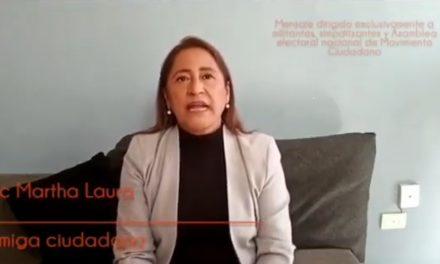 MARTHA RAMÍREZ PÉREZ ACEPTA EL RETO Y ESTÁ LISTA PARA DARLE FRENTE A LOS NUEVOS PROBLEMAS QUE ENFRENTA LA CIUDADANÍA DE LA MANO CON MOVIMIENTO CIUDADANO