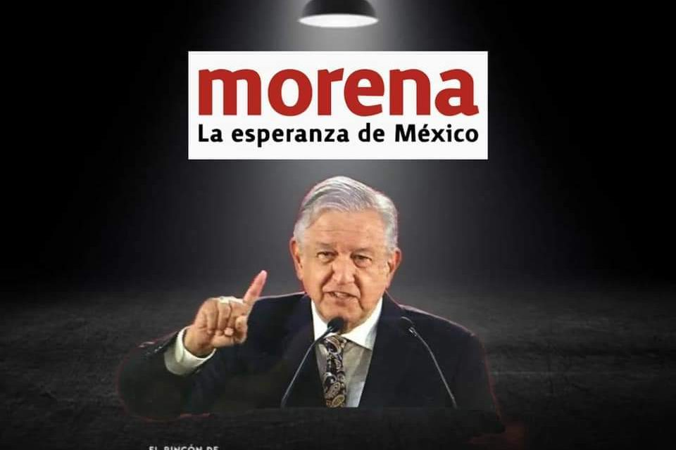 ANDRÉS MANUEL LÓPEZ OBRADOR ASEGURA QUE NO INTERVENDRÁ EN LA DESIGNACIÓN DE CANDIDATOS EN MORENA ¿LE CREEMOS?