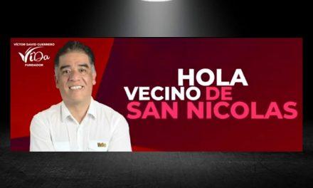 VÍCTOR DAVID GUERRERO CONFIADO DE QUE HARÁN JUSTICIA AL MÁS PODEROSO DE MORENA EN SAN NICOLÁS