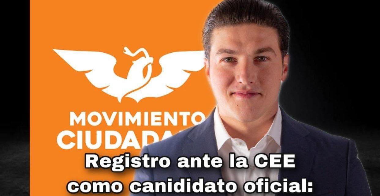 """PARECE QUE Samuel García MADRUGA """"A VER SI DIOS LO AYUDA"""" ¡SE REGISTRA ANTE Comisión Estatal Electoral Nuevo León!"""