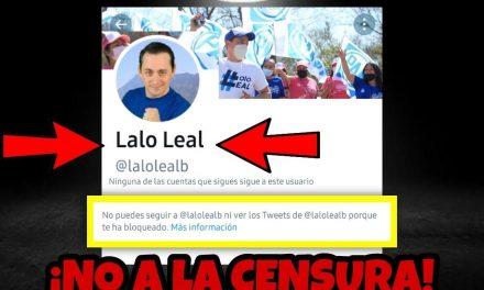 "LE PRESENTAMOS AL CANDIDATO A DIPUTADO LOCAL PANISTA ""LALO LEAL"" QUE ""CENSURÓ"" A ESTE MEDIO, ¡SALIÓ INTOLERANTE!"
