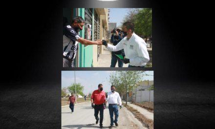 PACO TREVIÑO, LA VIALIDAD UNA DE SUS PRINCIPALES PREOCUPACIONES <br>