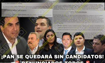 DENUNCIA PRESIDENTA ESTATAL DEL PRD A ALFONSO ROBLEDO, PEDRO GARZA, JESÚS GÓMEZ, FELIX ROCHA E ITZEL CASTILLO, PANISTAS TODOS, POR VIOLENCIA POLÍTICA DE GÉNERO ¡EN RIESGO SUS CANDIDATURAS!