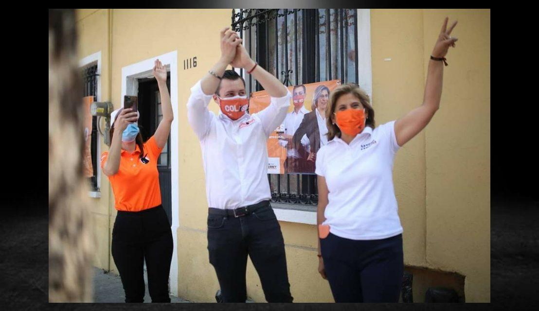 COLOSIO RIOJAS Y SANDRA PÁMANES COMPROMETIDOS CON LOS CIUDADANOS