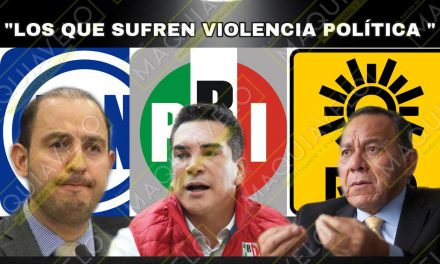 PRI-PAN-PRD EXIGEN AL GOBIERNO FEDERAL FRENAR VIOLENCIA POLÍTICA CONTRA SUS CANDIDATOS