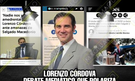 LORENZO CÓRDOVA SIGUE BUSCANDO LOS REFLECTORES, MÁS ALLÁ DE QUE SUS DECISIONES LEGALES YA NO LE CORRESPONDE LITIGAR EN LOS MEDIOS, ¡YA SIÉNTESE SEÑORA!